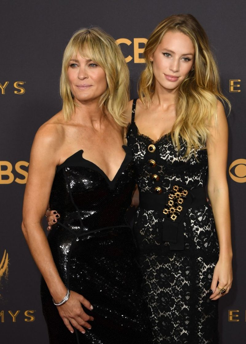ROBIN WRIGHT and DYLAN PENN at 69th Annual Primetime EMMY Awards in Los Angeles 09/17/2017