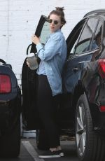 ROONEY MARA Arrives at a Gym in West Hollywood 09/20/2017