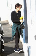 ROONEY MARA Arrives at a Gym in West Hollywood 09/26/2017