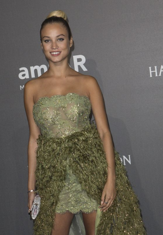ROSE BERTRAM at Amfar Gala in Milano 09/21/2017