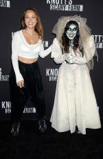 ROSE WILLIAMS at Knott's Scary Farm Celebrity Night in Buena Park 09/29/2017