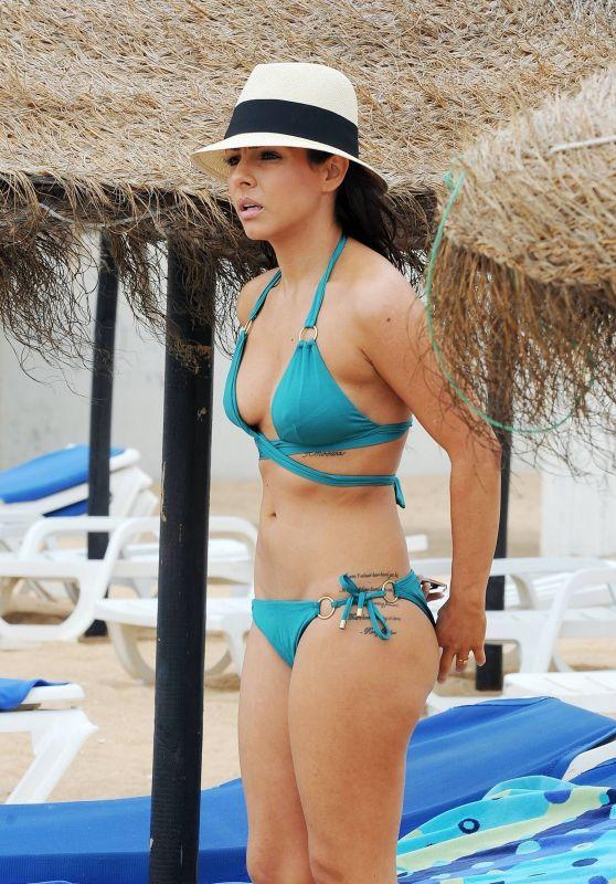 ROXANNE PALLETT in Bikini at a Beach in Cyprus 09/28/2017