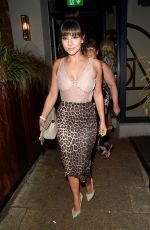 ROXANNE PALLETT Night Out in Cheshire 09/03/2017