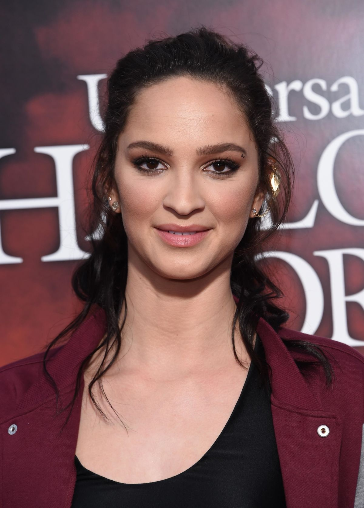 RUBY MODINE at Halloween Horror Nights Opening Night in Hollywood 09/15/2017
