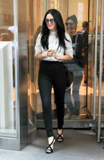 RUMER WILLIS  Leaves SiriusXM Studio in New York 09/25/2017