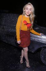 SABRINA CARPENTER at Coach Fashion Show at New York Fashion Week 09/12/2017