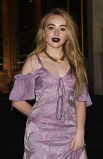 SABRINA CARPENTER at Harper's Bazaar Icons Party in New York 09/08/2017