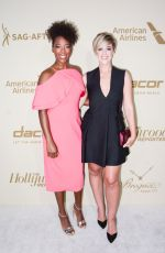 SAMIRA WILEY at Hollywood Reporter and Sag-aftra Nominees Night in Beverly Hills 09/14/2017