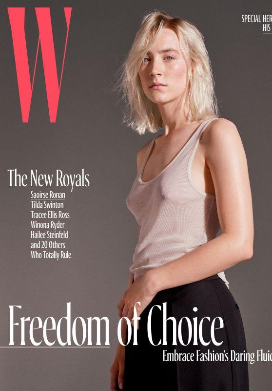 SAOIRSE RONAN for W Magazine, October 2017