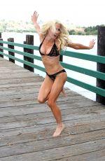SARA BARRETT in Bikini at Bonelli Park in San Dimas 09/17/2017