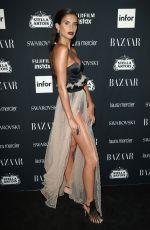 SARA SAMPAIO at Harper's Bazaar Icons Party in New York 09/08/2017