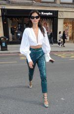 SARA SAMPAIO Leaves Her Hotel in London 09/18/2017