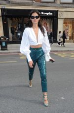 SARA SAMPAIO Out and About in London 09/18/2017