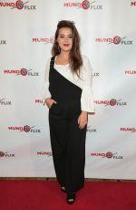 SARA SERENA at MundoFlix Launch Party in Studio City 08/28/2017