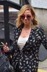 SARAH HARDING Arrives at ITV Studios in London 09/05/2017