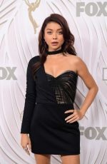 SARAH HYLAND at Fox & Nat Geo 69th Emmy Awards Party in Los Angeles 09/17/2017