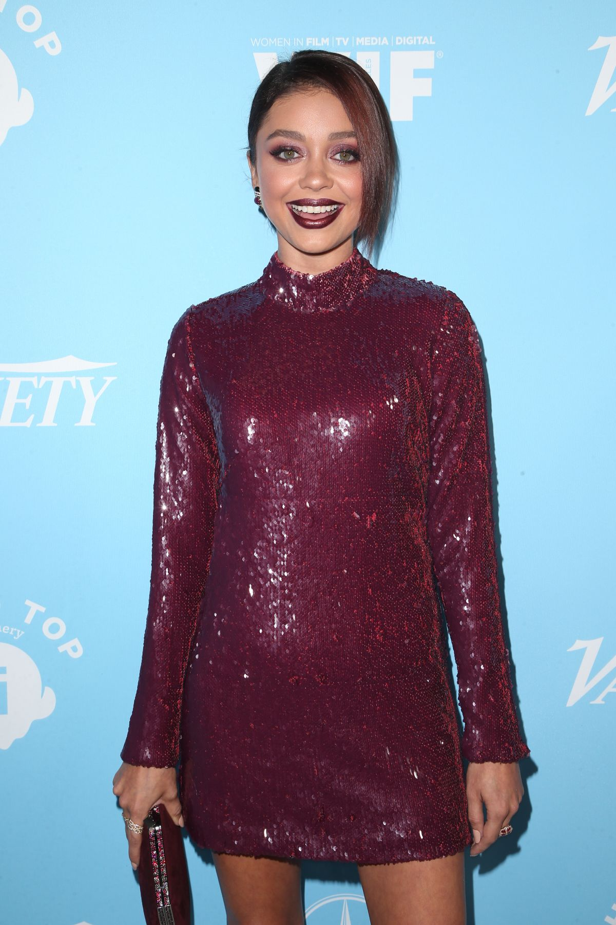 SARAH HYLAND at Variety & Women in Film Pre-emmy Celebration in Los Angeles 09/15/2017