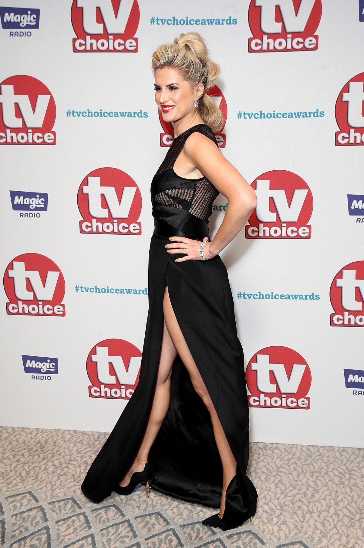 SARAH JAYNE DUNN at TV Choice Awards in London 09/04/2017