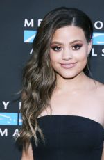 SARAH JEFFERY at Mercy for Animals Annual Hidden Heroes Gala in Los Angeles 09/23/2017