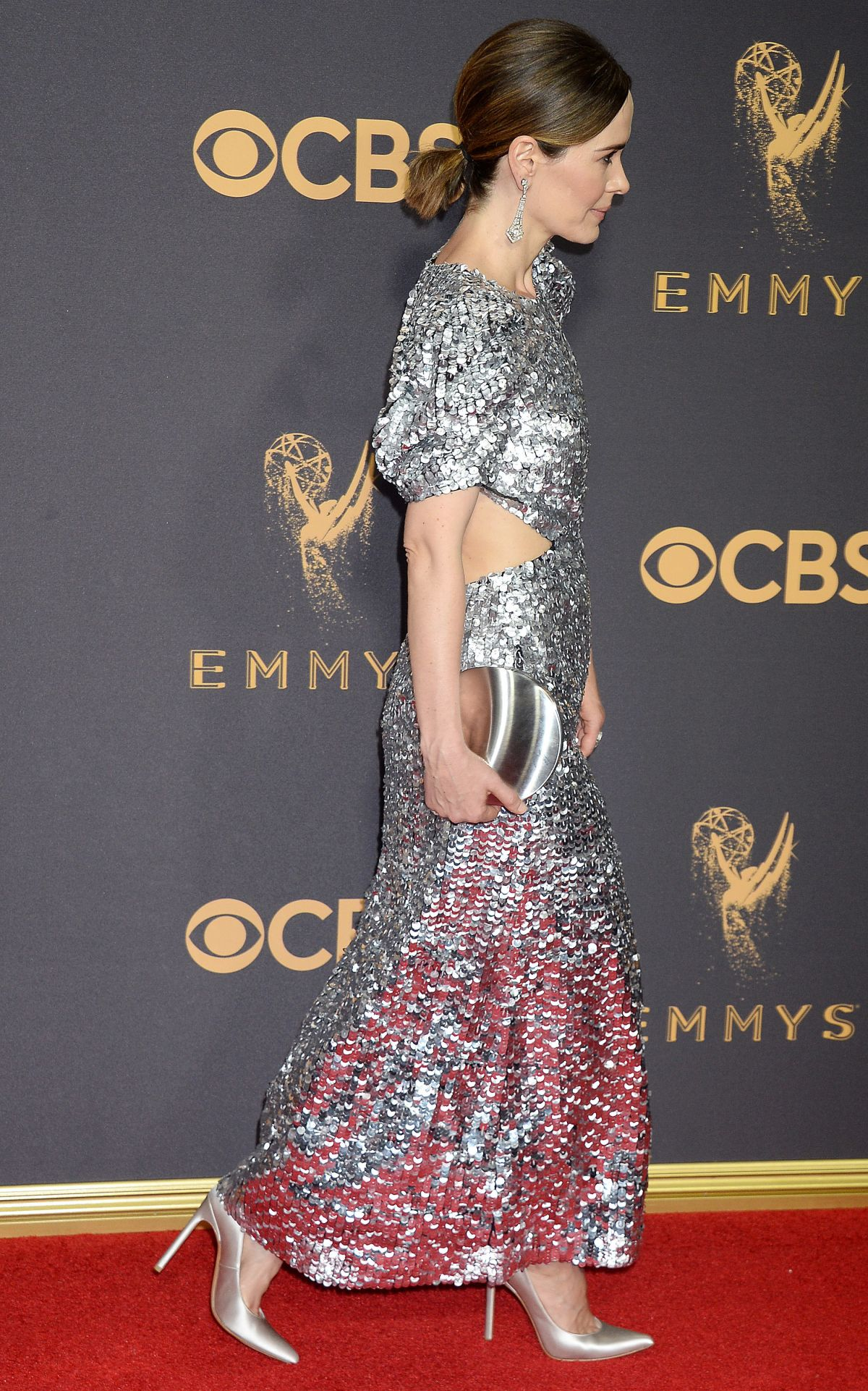 SARAH PAULSON at 69th Annual Primetime EMMY Awards in Los Angeles 09/17/2017