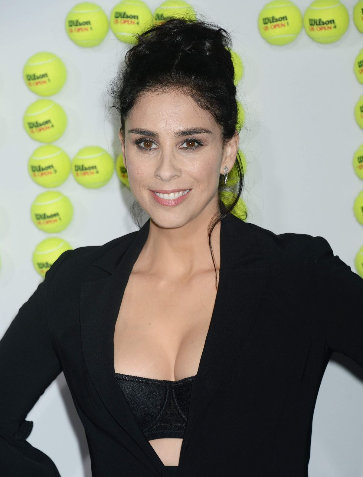 SARAH SILVERMAN at Battle of the Sexes Premiere in Los Angeles 09/16/2017