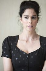 SARAH SILVERMAN on the Set of a Photoshoot in Hollywood 09/15/2017