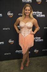 SASHA PIETERSE at DWTS Season 25 in Los Angeles 09/26/2017