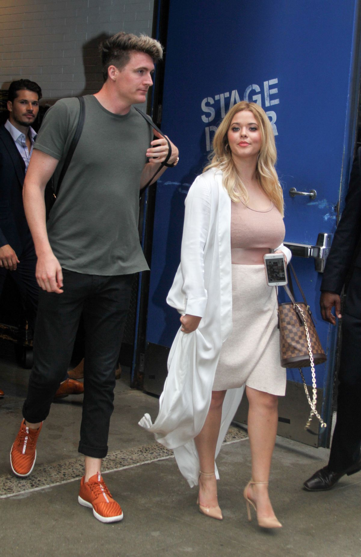 SASHA PIETERSE Leaves Good Morning America in New York 09/06/2017