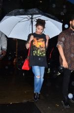 SELENA GOMEZ and The Weeknd Out for Dinner in New York 09/02/2017
