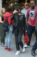 SELENA GOMEZ and The Weeknd Out Shopping in New York 09/02/2017