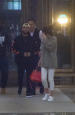 SELENA GOMEZ and The Weknd Out for Dinner in New York 09/03/2017