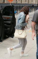 SELENA GOMEZ Arrives at Her Hotel in New York 09/18/2017