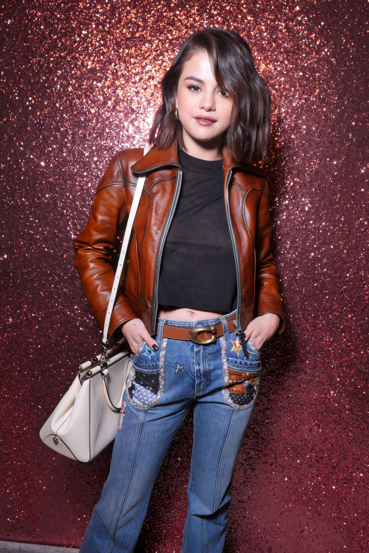 SELENA GOMEZ at Coach Fashion Show at New York Fashion Week 09/12/2017