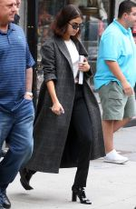 SELENA GOMEZ Leaves Her Apartment in New York 09/06/2017