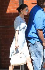 SELENA GOMEZ Leaves Her Apartment in New York 09/15/2017