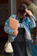 SELENA GOMEZ Leaves Her Apartment in New York 09/18/2017