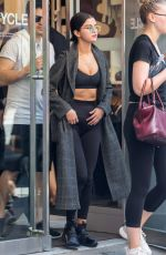 SELENA GOMEZ Leaves Soul Cycle Gym in New York 09/10/2017