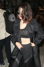 SELENA GOMEZ Night Out in New York 09/28/2017