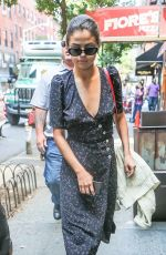 SELENA GOMEZ Out and About in New York 09/05/2017