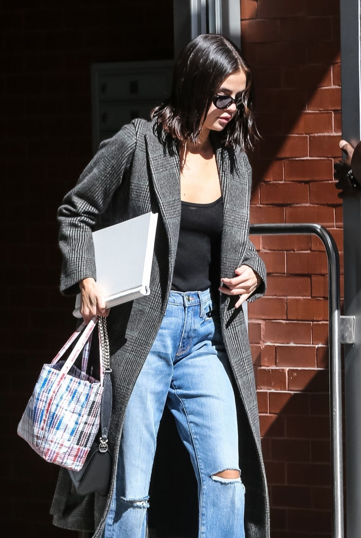 SELENA GOMEZ Out in New York 09/09/2017