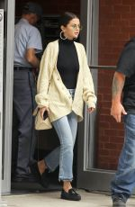 SELENA GOMEZ Out in New York 09/29/2017
