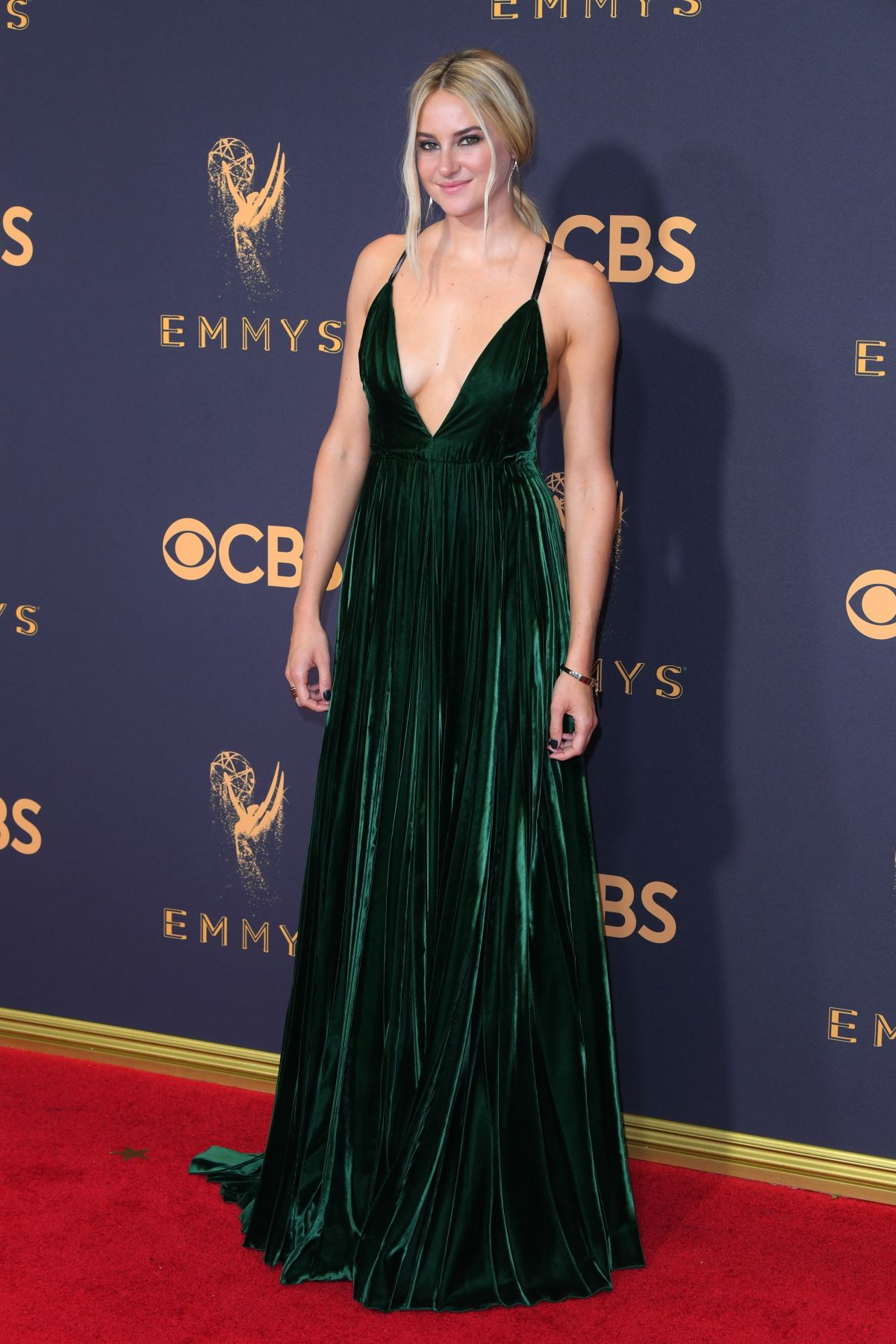 SHAILENE WOODLEY at 69th Annual Primetime EMMY Awards in Los Angeles 09/17/2017