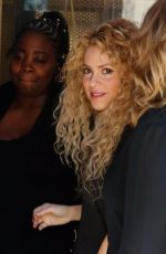 SHAKIRA Out and About in Barcelona 09/27/2017