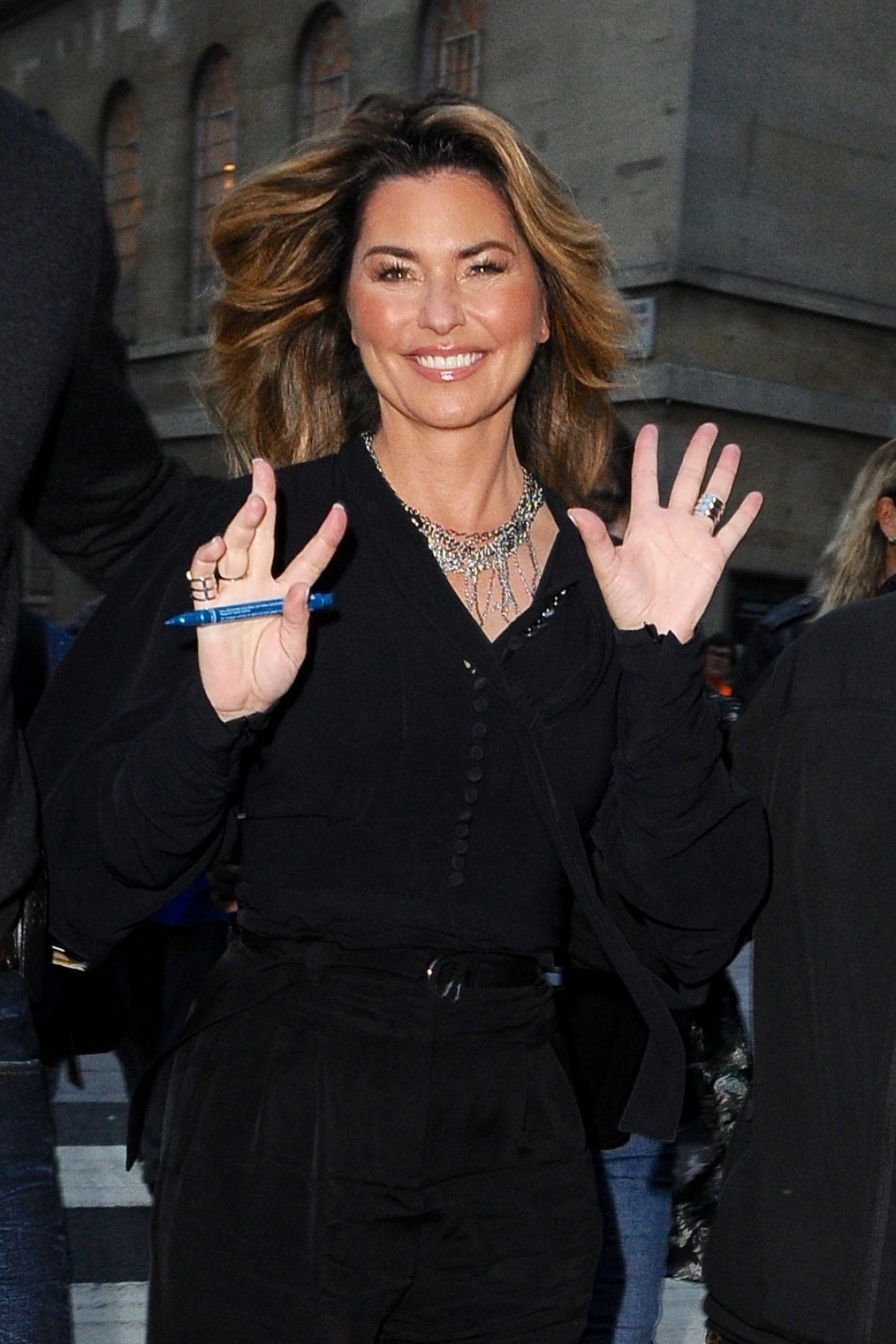 SHANIA TWAIN at The One Show in London 09/04/2017