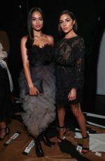 SHANINA SHAIK at Marchesa Fashion Show at New York Fashion Week 09/13/2017