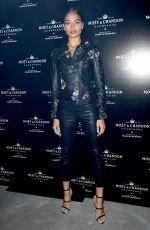 SHANINA SHAIK at Moet & Chandon by Public School Launch Celebration at New York Fashion Week 09/10/2017