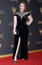 SHANNON PURSER at Creative Arts Emmy Awards in Los Angeles 09/10/2017