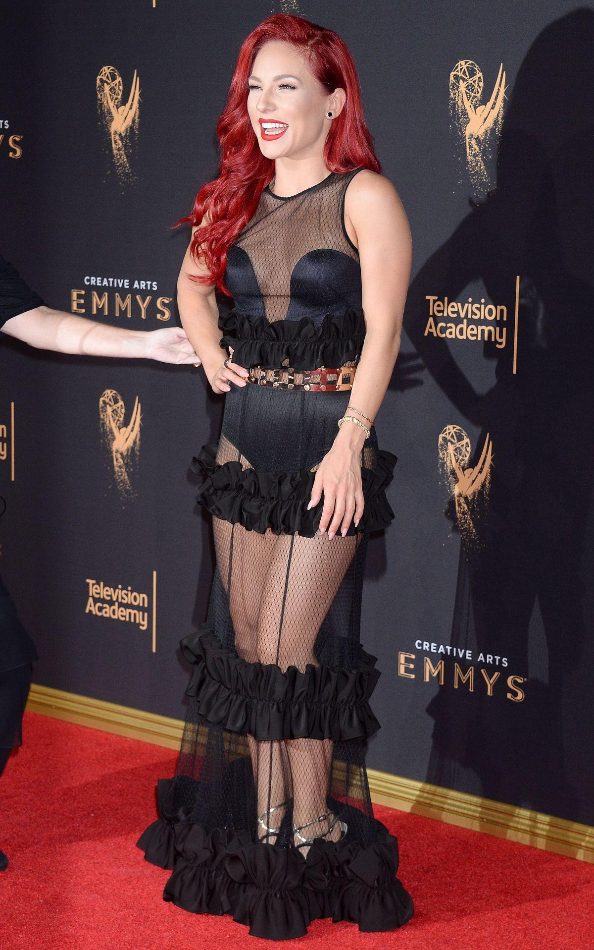 SHARNA BURGESS at Creative Arts Emmy Awards in Los Angeles ...
