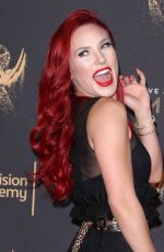 SHARNA BURGESS at Creative Arts Emmy Awards in Los Angeles 09/10/2017