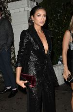 SHAY MITCHELL Arrives at Uta Talent Agency Party in Los Angeles 09/15/2017